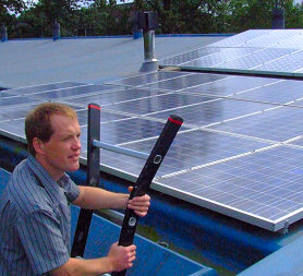 Lennart - proud owner of large, self-installed PV battery