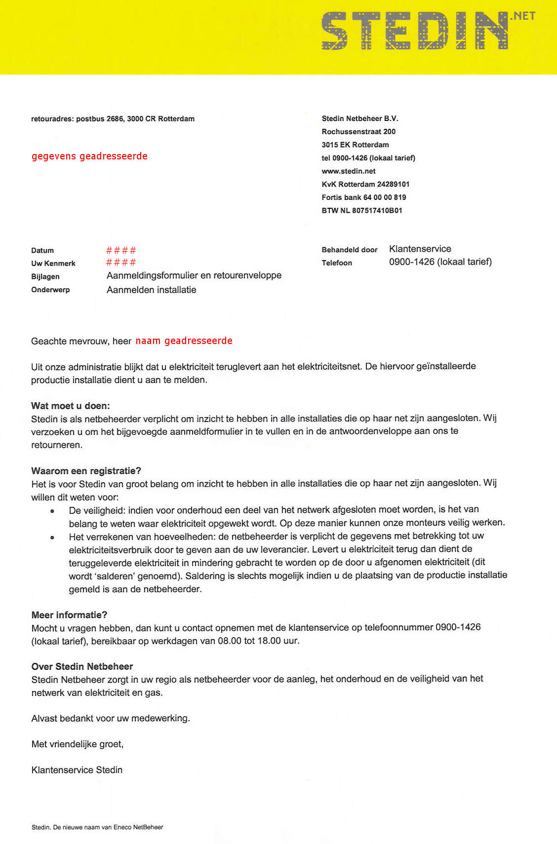 formele brief duits